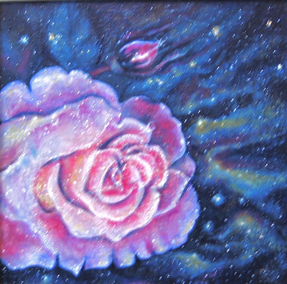 """Rose Nebula"" original fine art by Karen Roncari"
