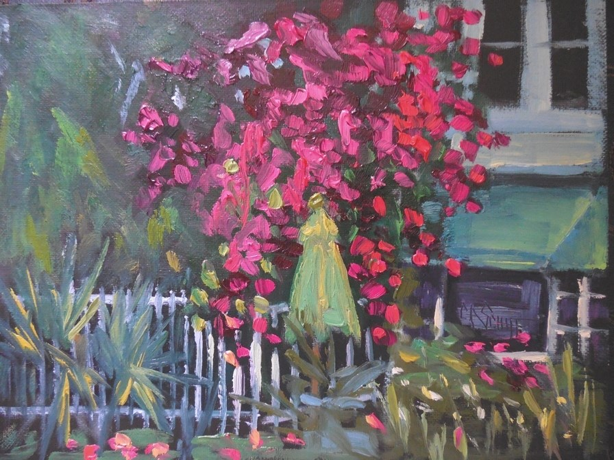 """Tropical Landscape Painting 
