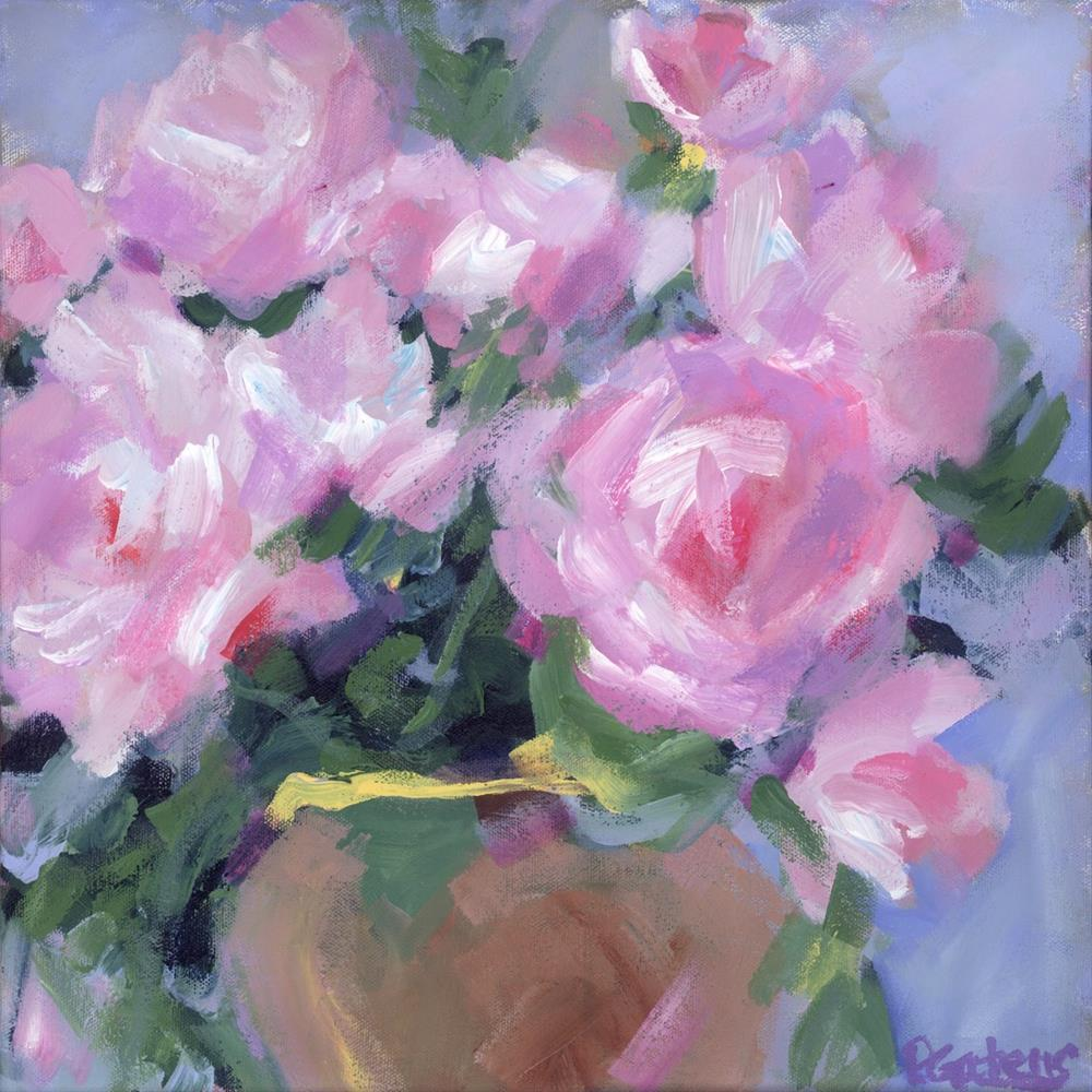 """Lavender Pinks"" original fine art by Pamela Gatens"