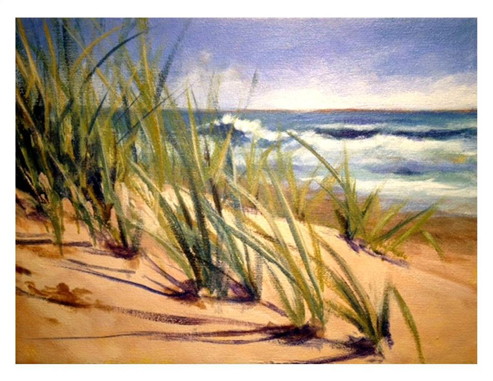"""Spring in OBX"" original fine art by Suzanne Woodward"