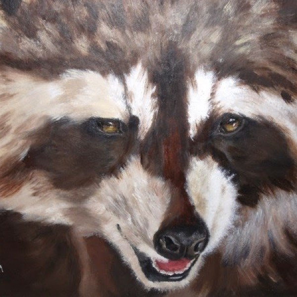 """Devilish"" original fine art by Nelvia  McGrath"