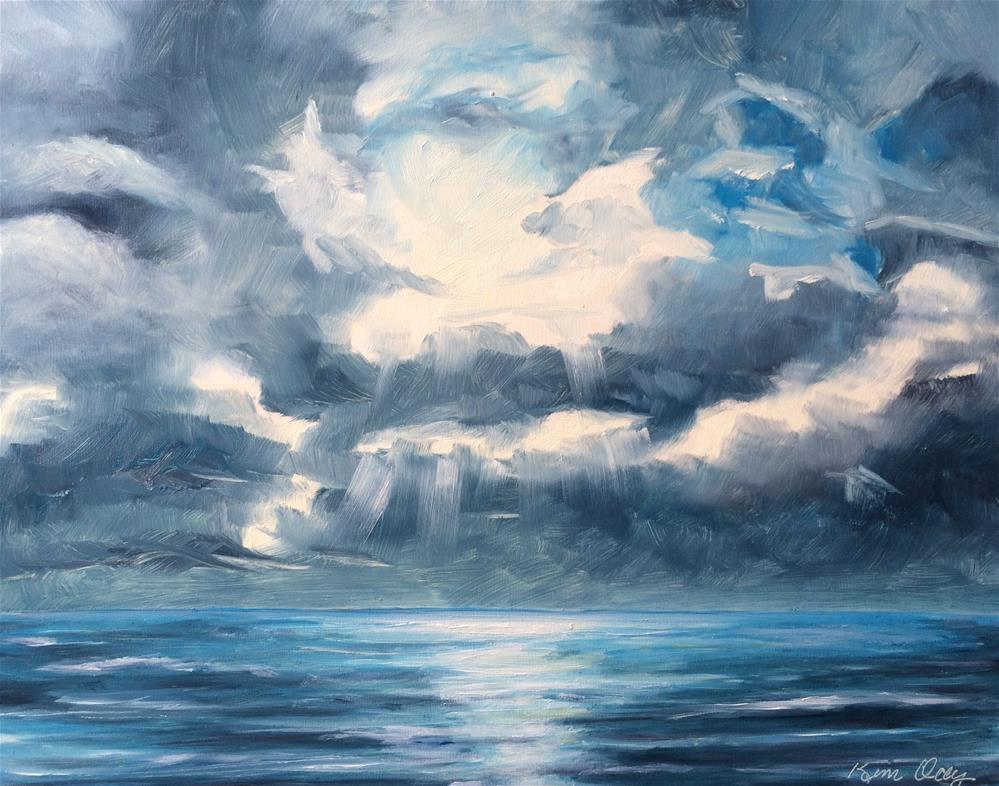 """Clouds Illusions"" original fine art by Kim Clay"