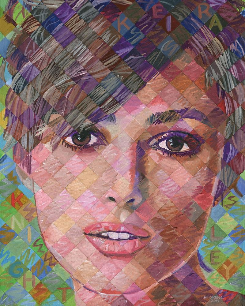 """Keira Knightley"" original fine art by Randal Huiskens"