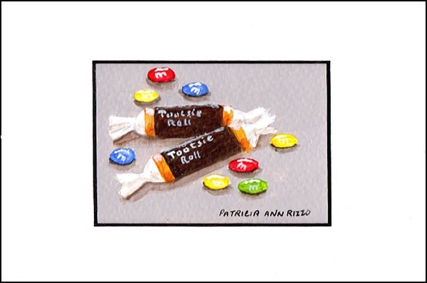 """A Little Bit of Candy"" original fine art by Patricia Ann Rizzo"