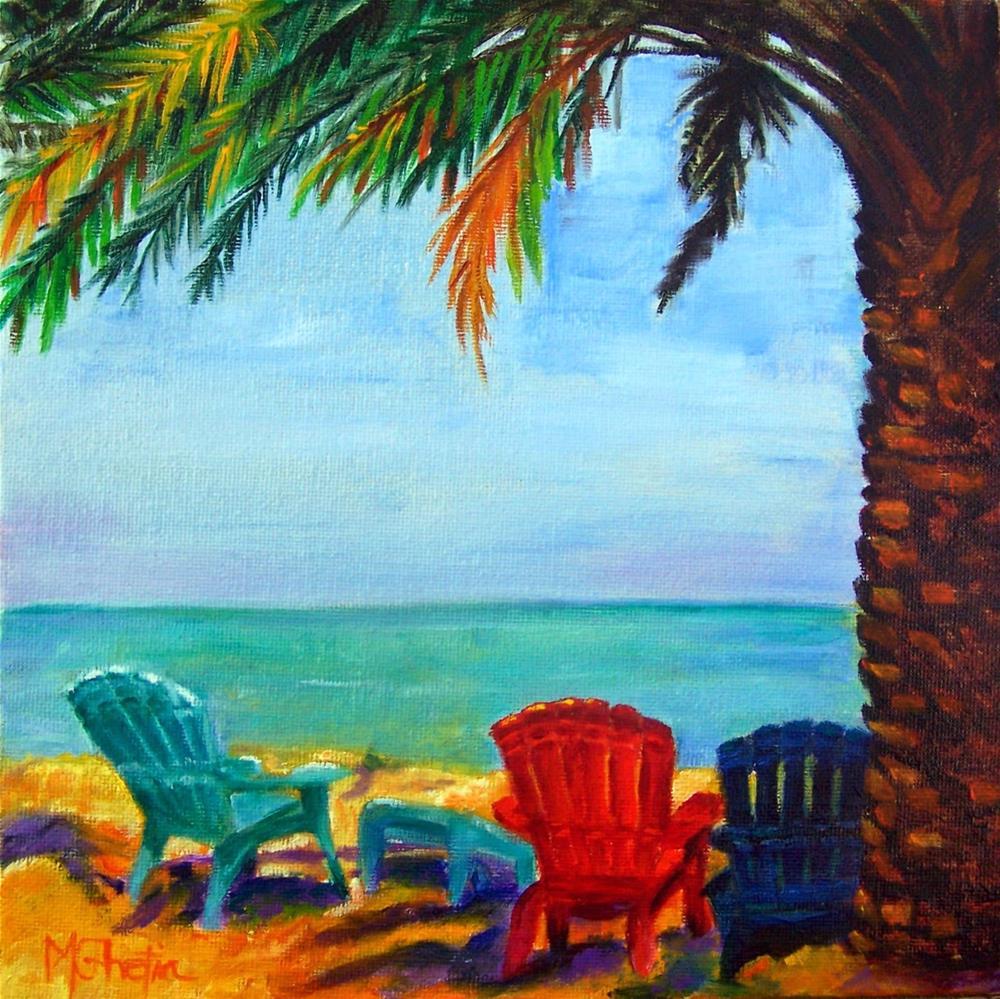 """Crystal Beach"" original fine art by Maureen Ghetia"