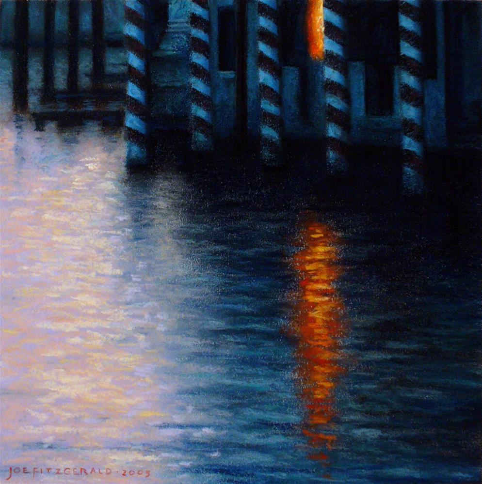 """Dusk, Grand Canal"" original fine art by Joe Fitzgerald"