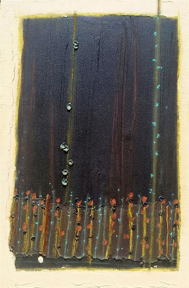 """Copper Earth"" original fine art by Christy Tremblay"