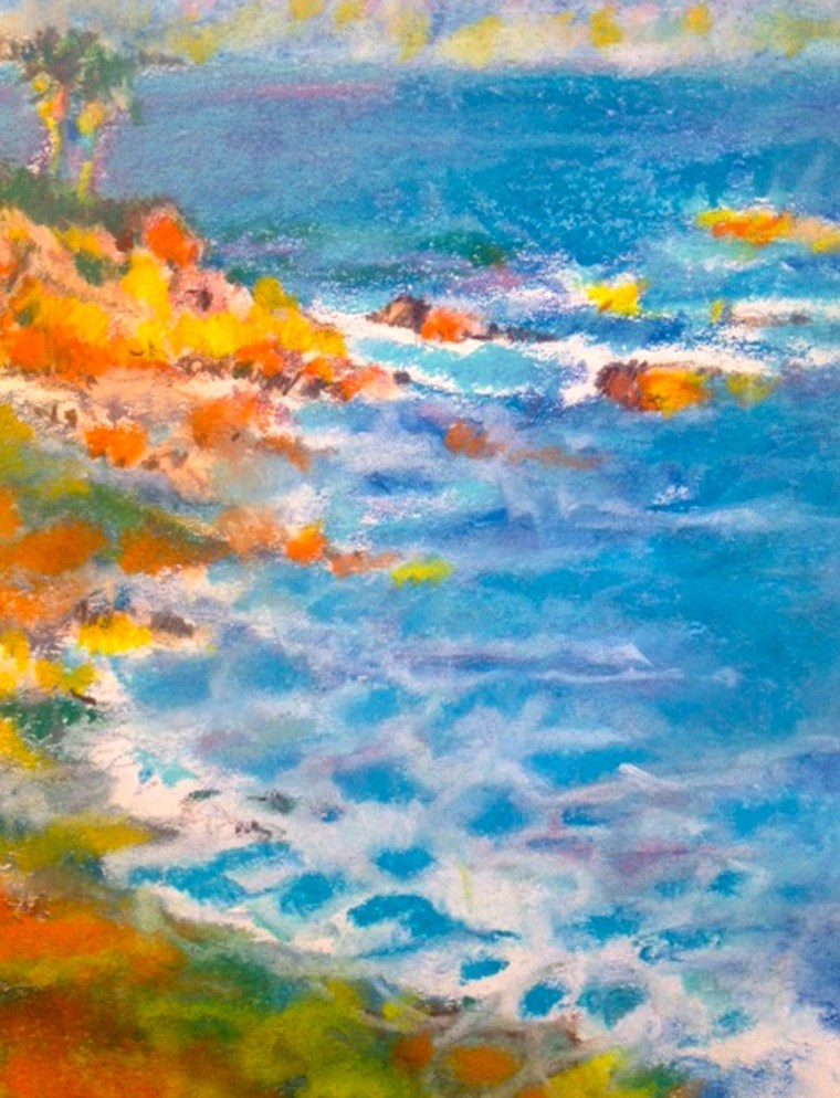 """Laguna"" original fine art by Nancy Lasater"