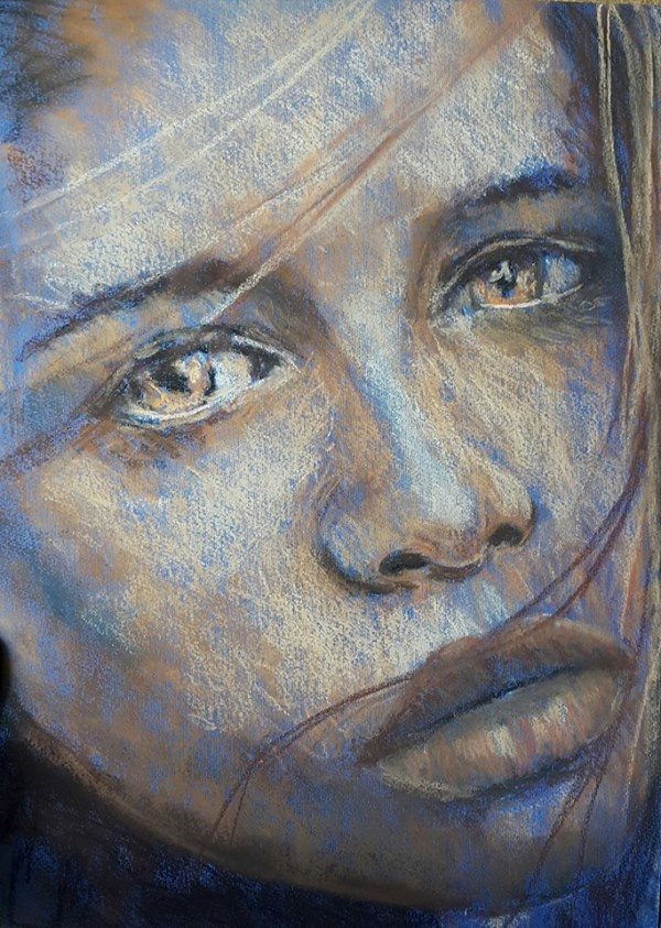 """Haunted"" original fine art by Rentia Coetzee"