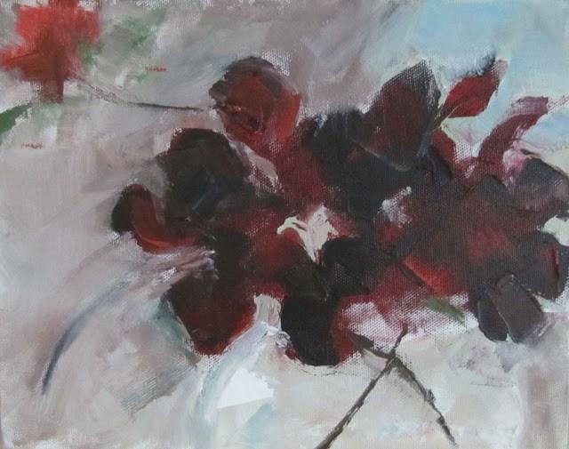 """""""Smoke Bush"""" original fine art by Helen Moreda"""