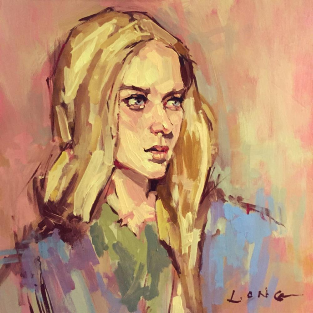 """""""Portrait Demo 1"""" original fine art by Chris Long"""
