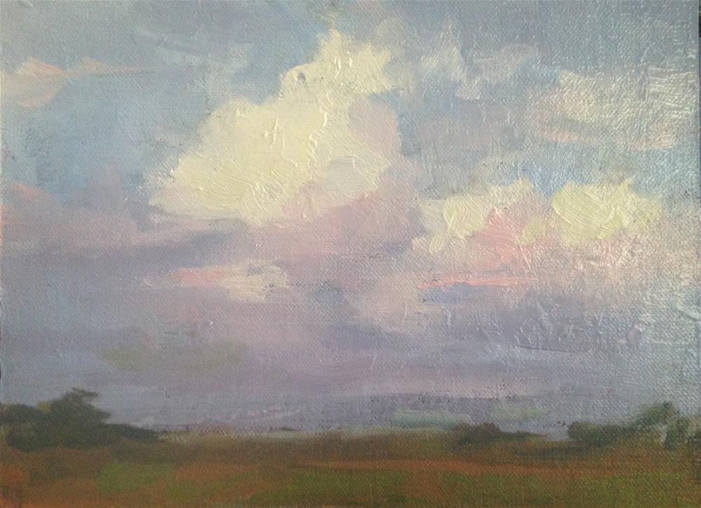 """Sunday Clouds"" original fine art by Fine Art of René"