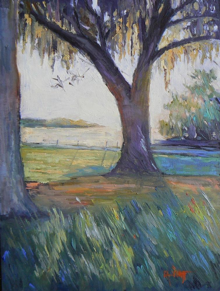 """Mossy Oak, 9x12, SOLD"" original fine art by Carol Schiff"