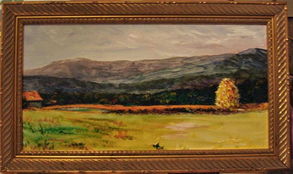 """ORIGINAL LANDSCAPE PAINTING OF STOWE VERMONT"" original fine art by Sue Furrow"