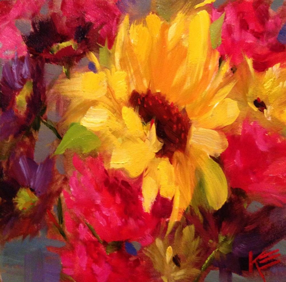 """Sweet moment"" original fine art by Krista Eaton"