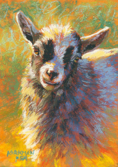 """Gracie"" original fine art by Rita Kirkman"