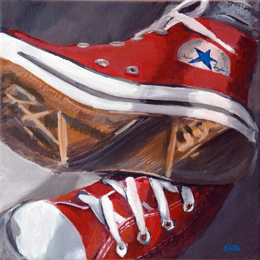 """""""1302 Chucks"""" original fine art by Dietmar Stiller"""