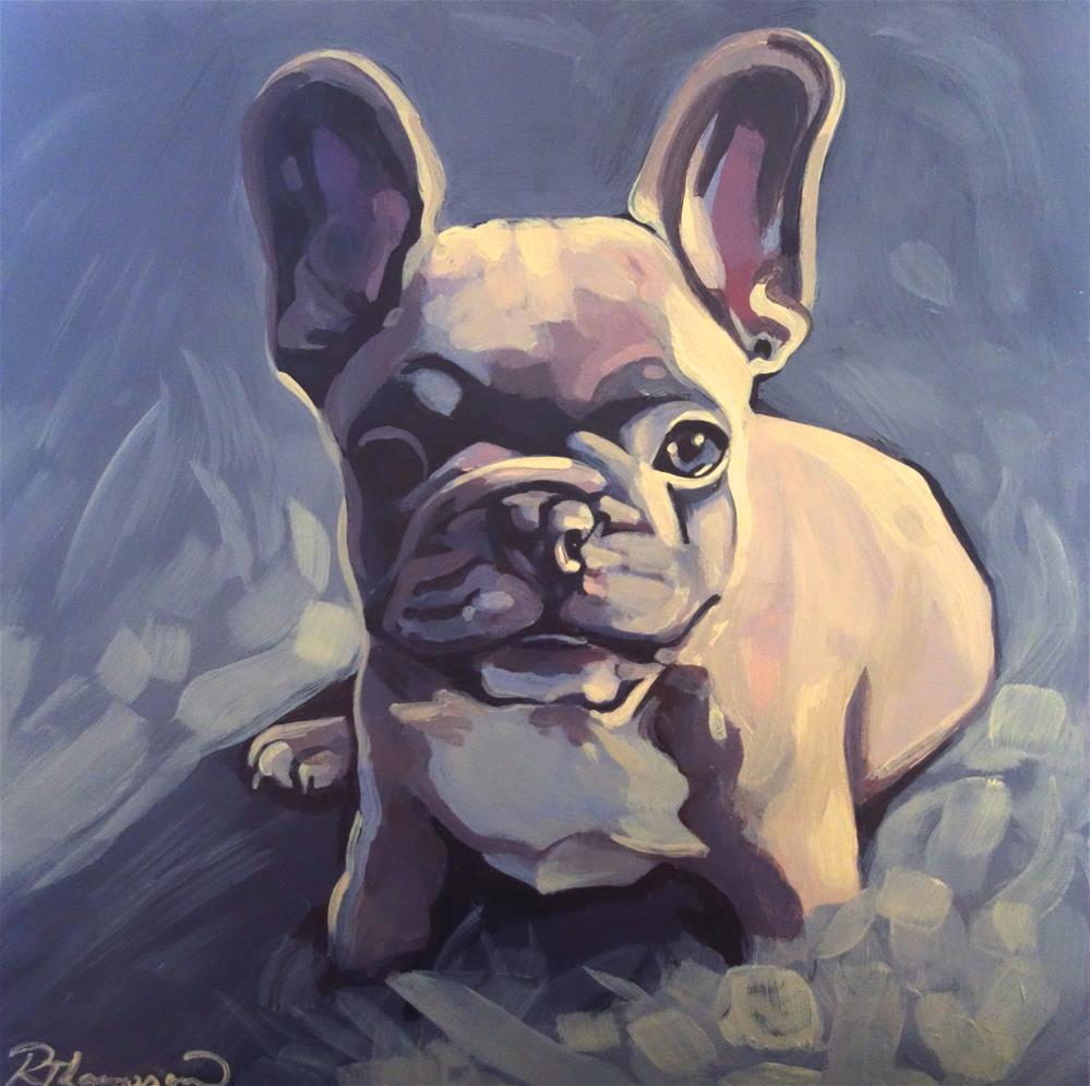 """Nixon"" original fine art by Rachel Thompson"