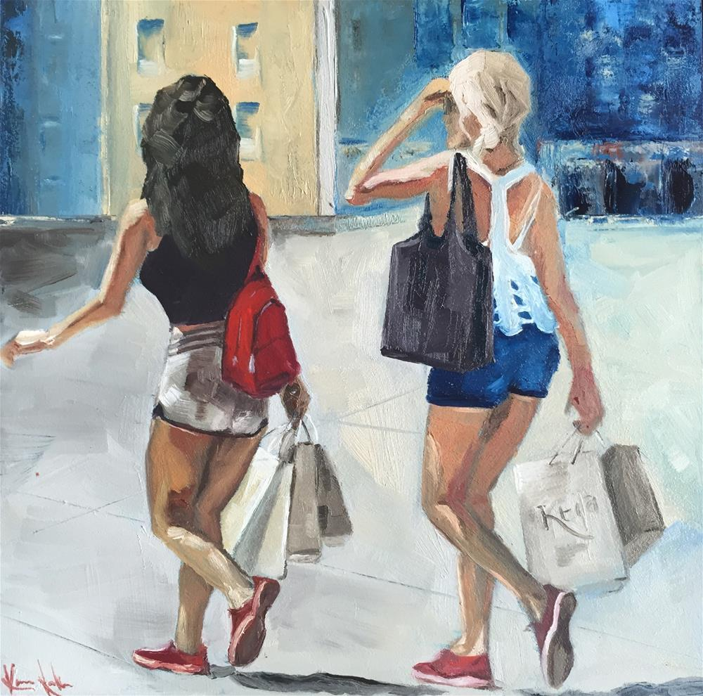 """Mojito time"" original fine art by Karen Laken"