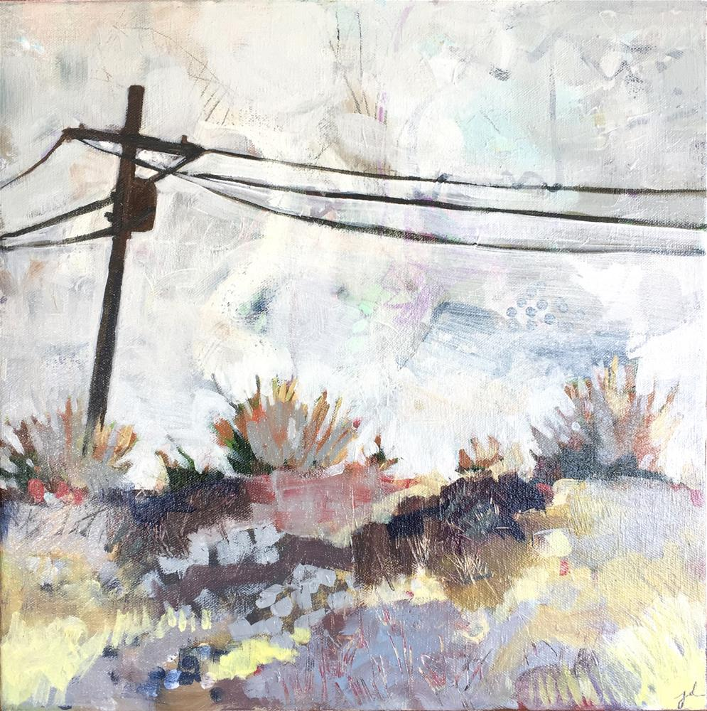 """Roadside"" original fine art by Jessie Dodington"