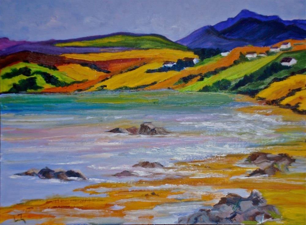 """Scottish Loch"" original fine art by Liz Zornes"