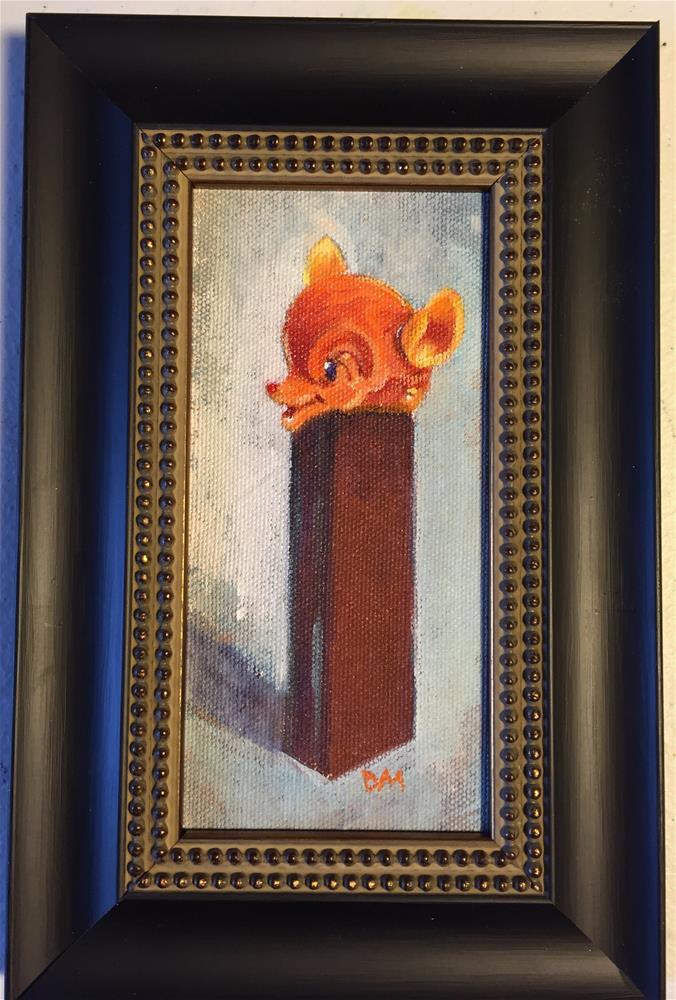 """Daily sketch pez"" original fine art by Dawn Melka"