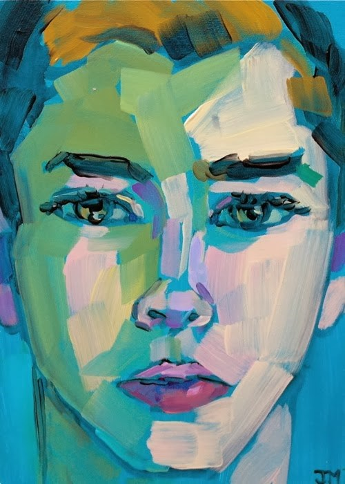 """Half-Hour Portrait Commission"" original fine art by Jessica Miller"