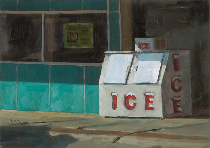 """Ice"" original fine art by Kathleen Coy"