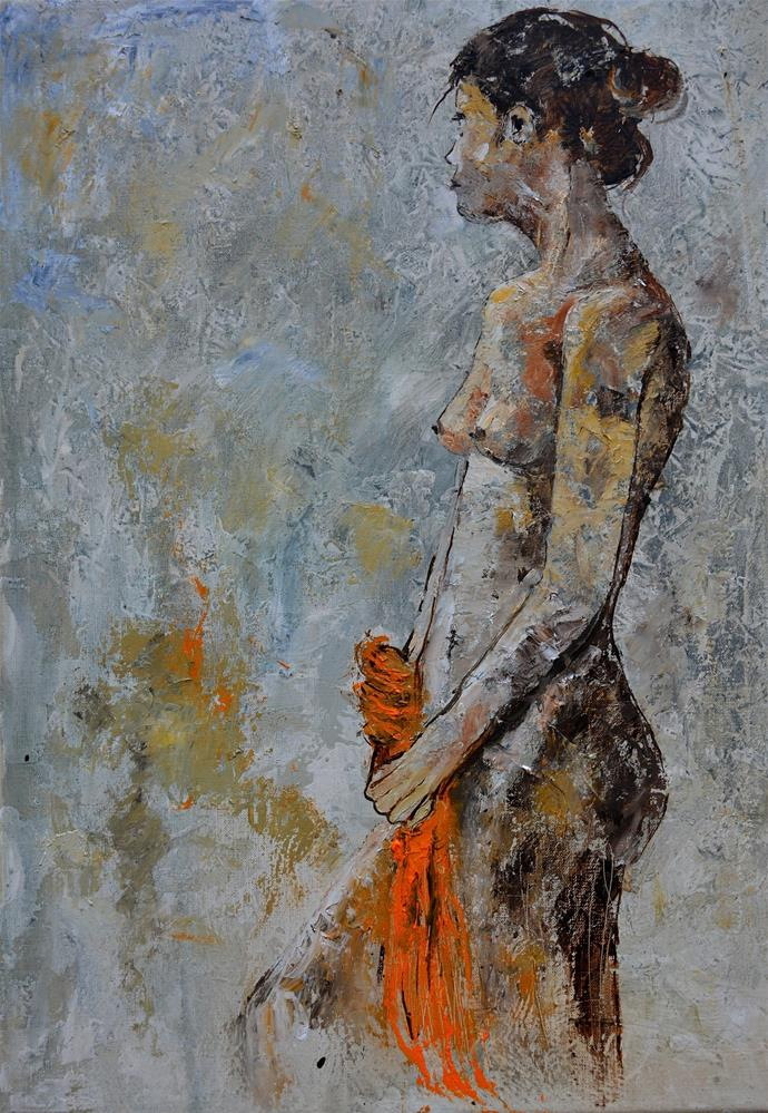 """Nude 575111"" original fine art by Pol Ledent"