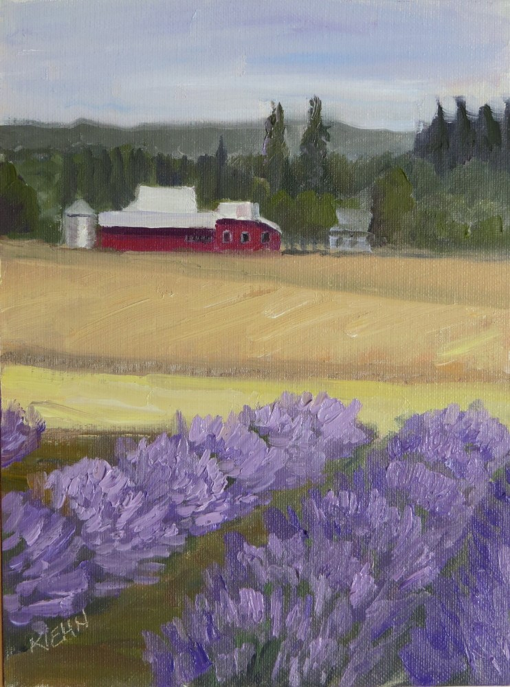 """Ready for Harvest"" original fine art by Richard Kiehn"