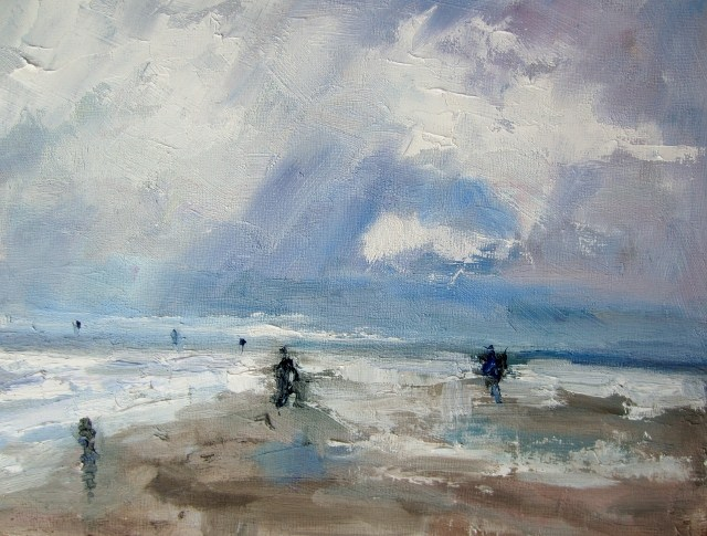 """Salty Breeze"" original fine art by Astrid Buchhammer"