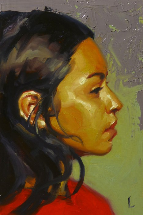 """Clay"" original fine art by John Larriva"