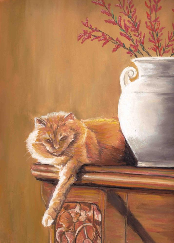 """Randy"" original fine art by Charlotte Yealey"