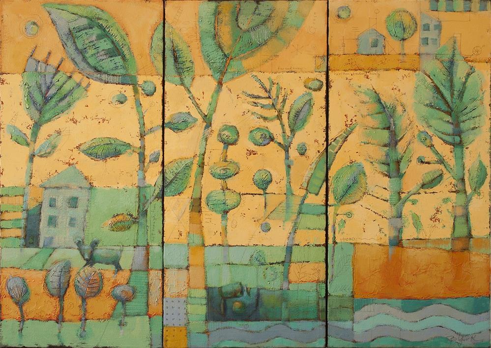 """Boneyard Forest"" original fine art by Brenda York"