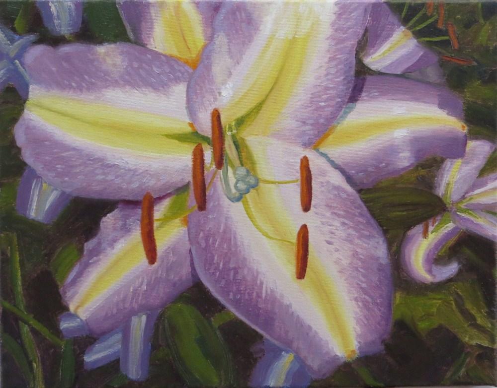 """Lovely Lily"" original fine art by Richard Kiehn"