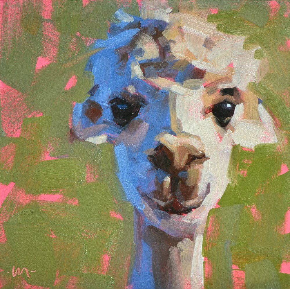 """""""Little Miss Sunshine"""" original fine art by Carol Marine"""