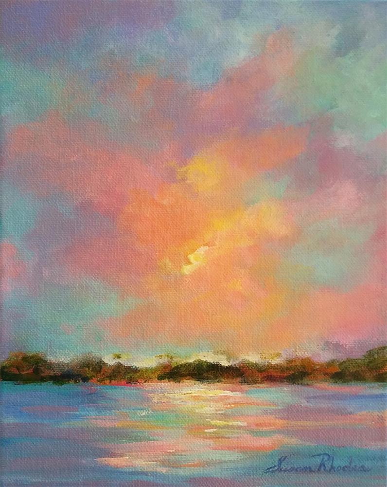"""""""Anastasia Island Dunes"""" original fine art by Susan Rhodes"""