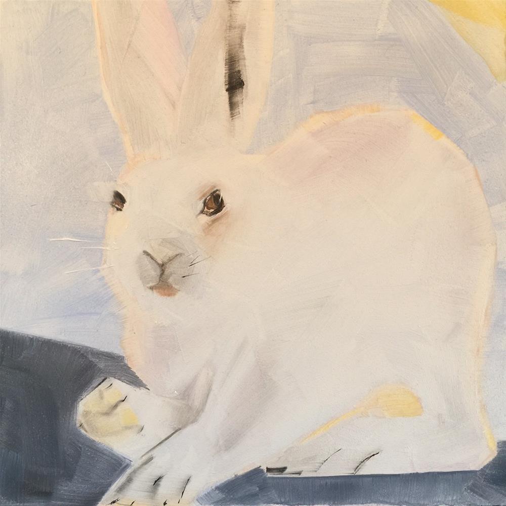 """244 Hopper"" original fine art by Jenny Doh"