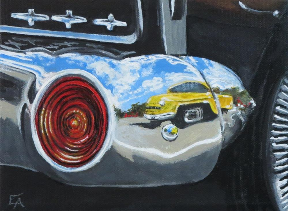 """American Chrome I"" original fine art by Elizabeth Elgin"