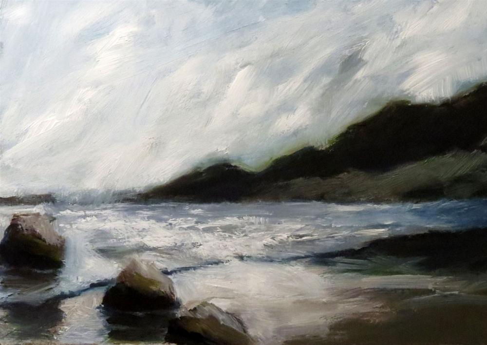 """Boulder Beach"" original fine art by Bob Kimball"