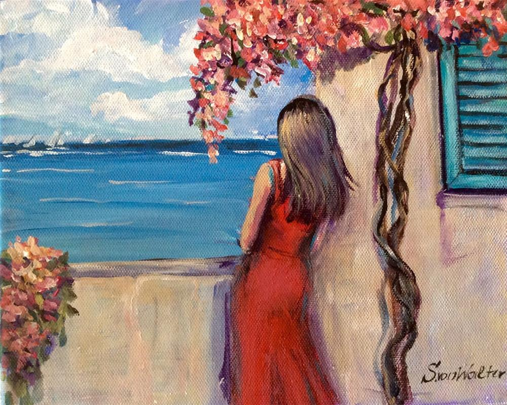 """Summer in Bermuda"" original fine art by Sonia von Walter"