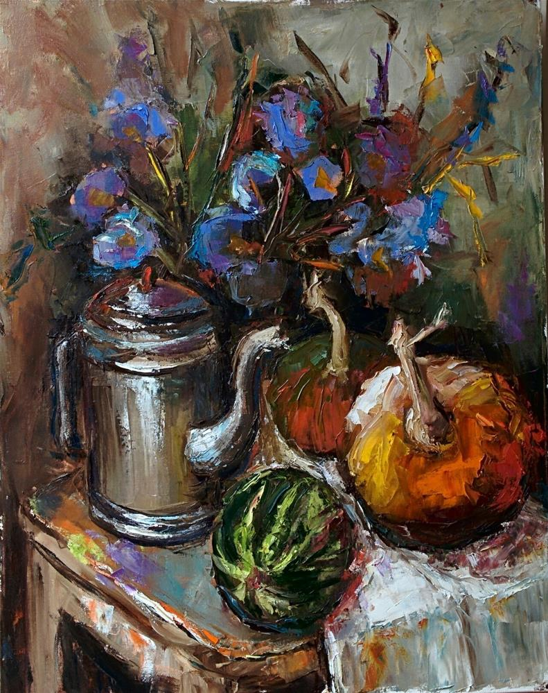 """Still Life with Simple Things"" original fine art by pepa sand"