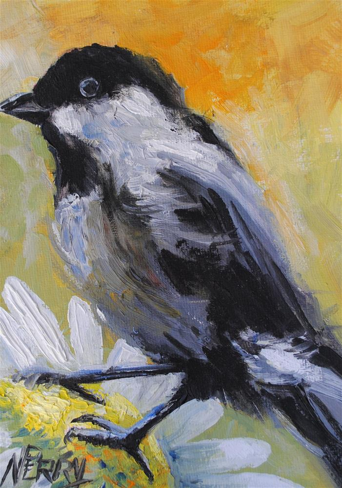 """Little Guy"" original fine art by Nan Perry"