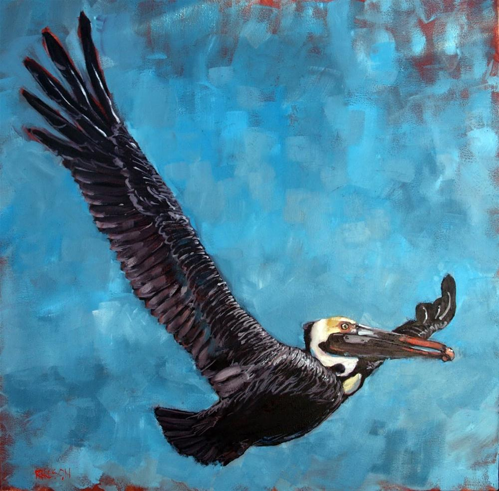"""Fly Away Flap Your Wings"" original fine art by Rick Nilson"