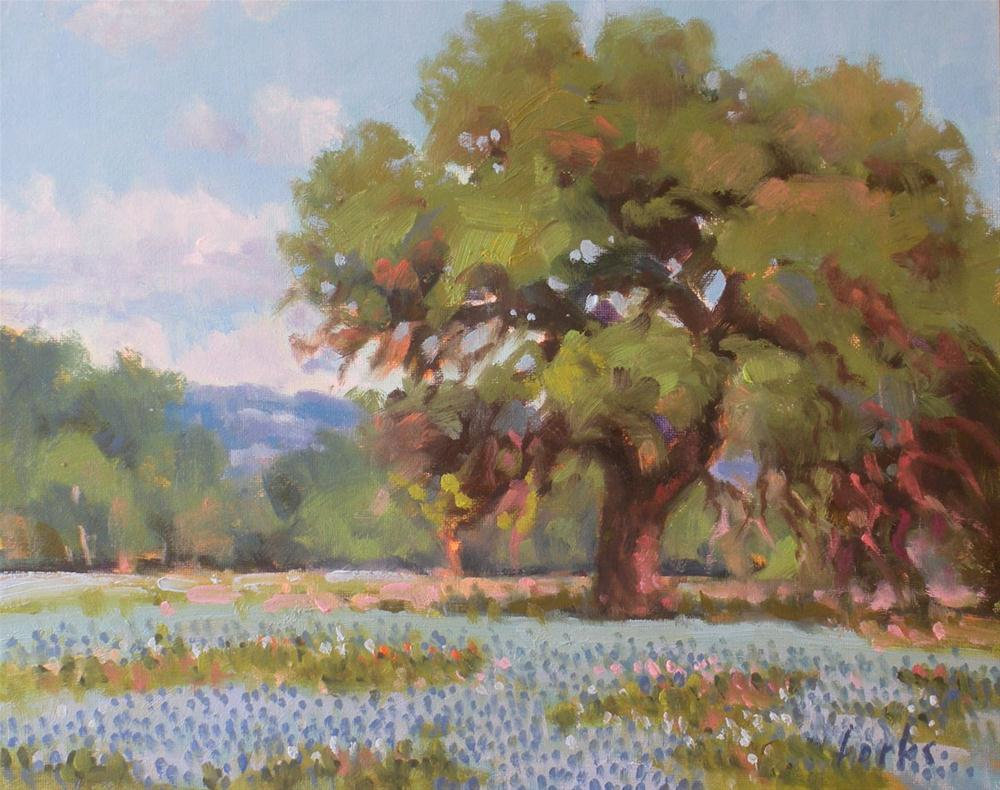 """La Grange Oak"" original fine art by David Forks"