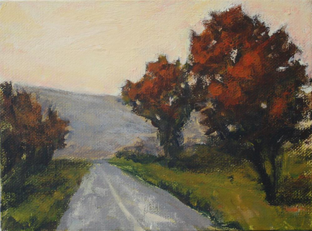 """Driving Home"" original fine art by Shannon Bauer"