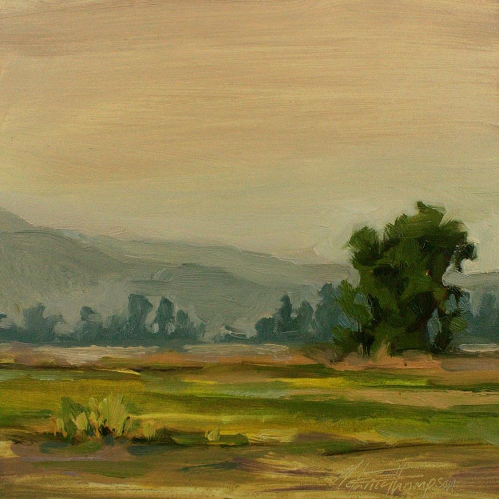 """Pastoral Reverie I"" original fine art by Melanie Thompson"