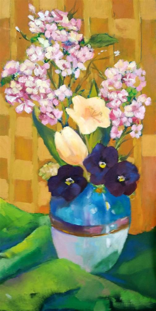 """""""Just This Spring"""" original fine art by De Selby"""