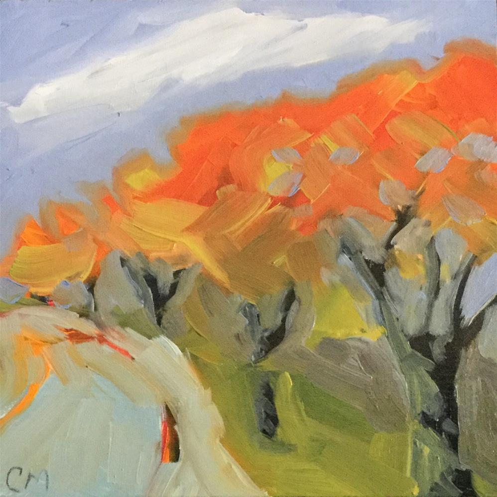 """Gulf of Mexico Drive"" original fine art by Cheryl Moody"