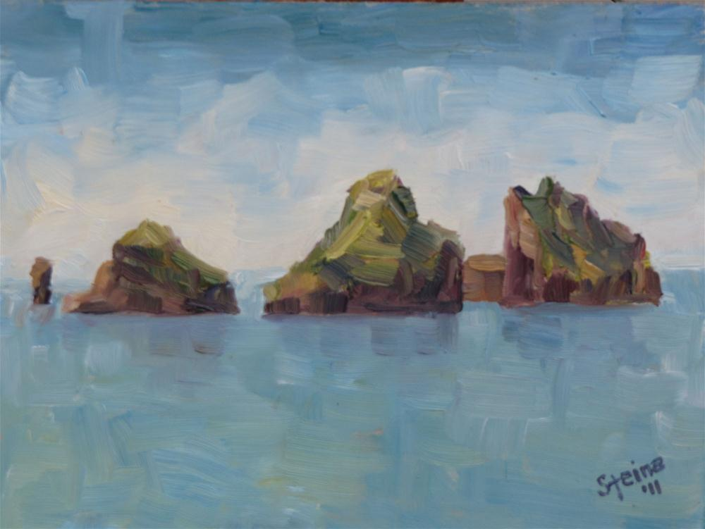 """Small Islands"" original fine art by Steinunn Einarsdottir"